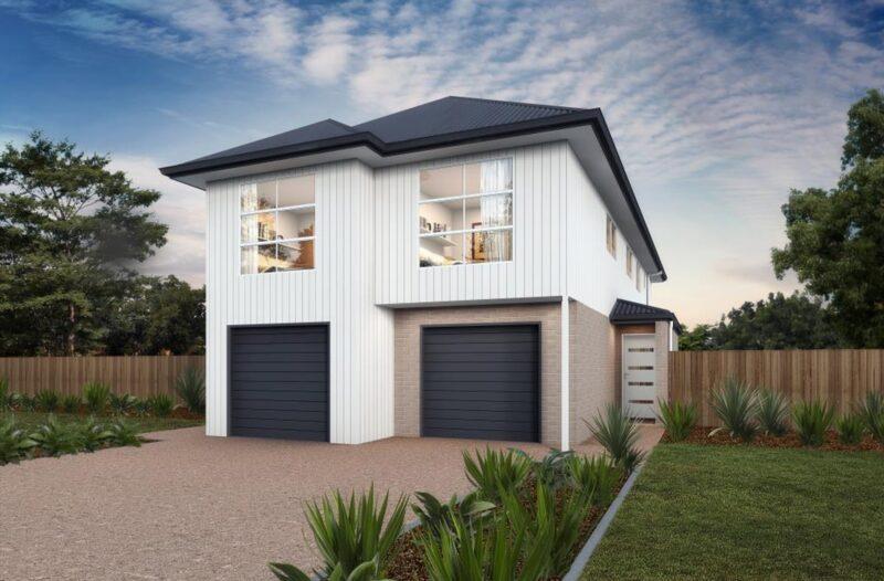 Duplex Property Facade
